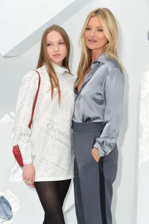 Kate Moss and Lila Moss attends Dior Homme Menswear Spring Summer 2020 Show in Paris 2019/06/21 1