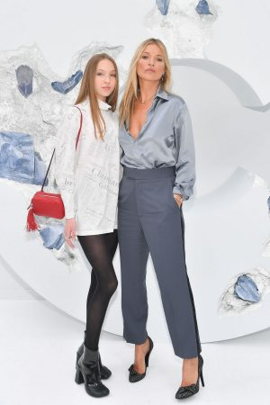 Kate Moss and Lila Moss attends Dior Homme Menswear Spring Summer 2020 Show in Paris 2019/06/21 2