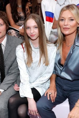 Kate Moss and Lila Moss attends Dior Homme Menswear Spring Summer 2020 Show in Paris 2019/06/21 6