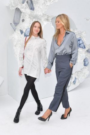 Kate Moss and Lila Moss attends Dior Homme Menswear Spring Summer 2020 Show in Paris 2019/06/21 8