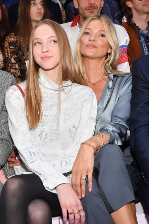 Kate Moss and Lila Moss attends Dior Homme Menswear Spring Summer 2020 Show in Paris 2019/06/21 9