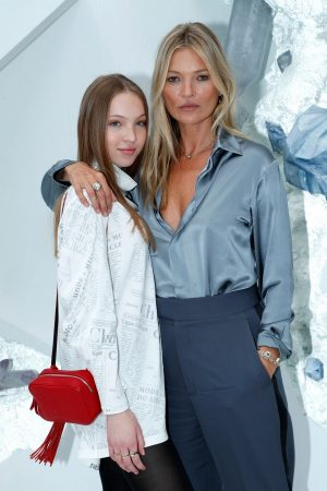 Kate Moss and Lila Moss attends Dior Homme Menswear Spring Summer 2020 Show in Paris 2019/06/21 14