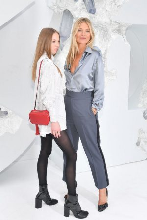 Kate Moss and Lila Moss attends Dior Homme Menswear Spring Summer 2020 Show in Paris 2019/06/21 15
