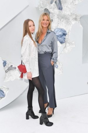 Kate Moss and Lila Moss attends Dior Homme Menswear Spring Summer 2020 Show in Paris 2019/06/21 16
