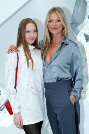 Kate Moss and Lila Moss attends Dior Homme Menswear Spring Summer 2020 Show in Paris 2019/06/21 19