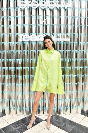 Kendall Jenner attends #PaintPositivity #BecauseWordsMatter in Williamsburg 2019/06/20 2