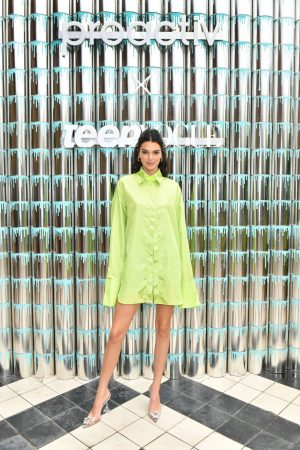 Kendall Jenner attends #PaintPositivity #BecauseWordsMatter in Williamsburg 2019/06/20 9