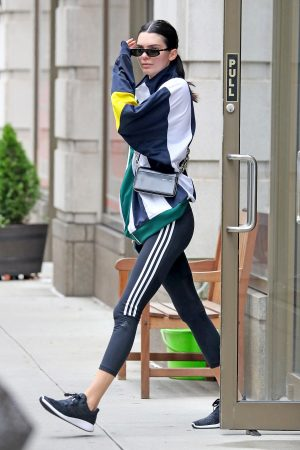 Kendall Jenner in Tights Out and About in New York CityJune 19, 2019 4