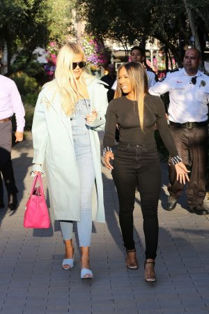 Khloe Kardashian and Malika Haqq Out for a studio in Los Angeles 2019/06/19 8