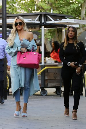 Khloe Kardashian and Malika Haqq Out for a studio in Los Angeles 2019/06/19 12