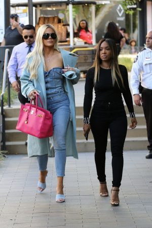 Khloe Kardashian and Malika Haqq Out for a studio in Los Angeles 2019/06/19 15