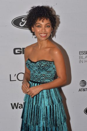 Logan Browning attends 2019 Essence Black Women in Hollywood Awards 2019/02/21 3