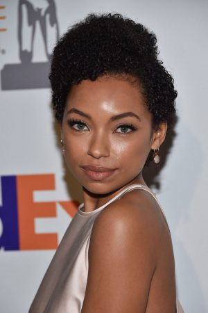 Logan Browning attends 50th NAACP Image Awards Nominees Luncheon at Loews Hollywood Hotel 2019/03/09 1