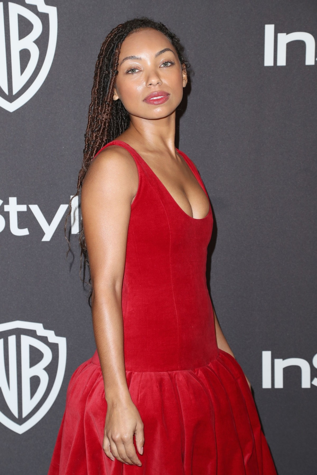 Logan Browning attends InStyle And Warner Bros. Golden Globes After Party 2019/01/06 5