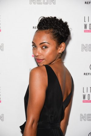 """Logan Browning attends Premiere of """"Little Woods"""" in Los Angeles 2019/04/01 1"""