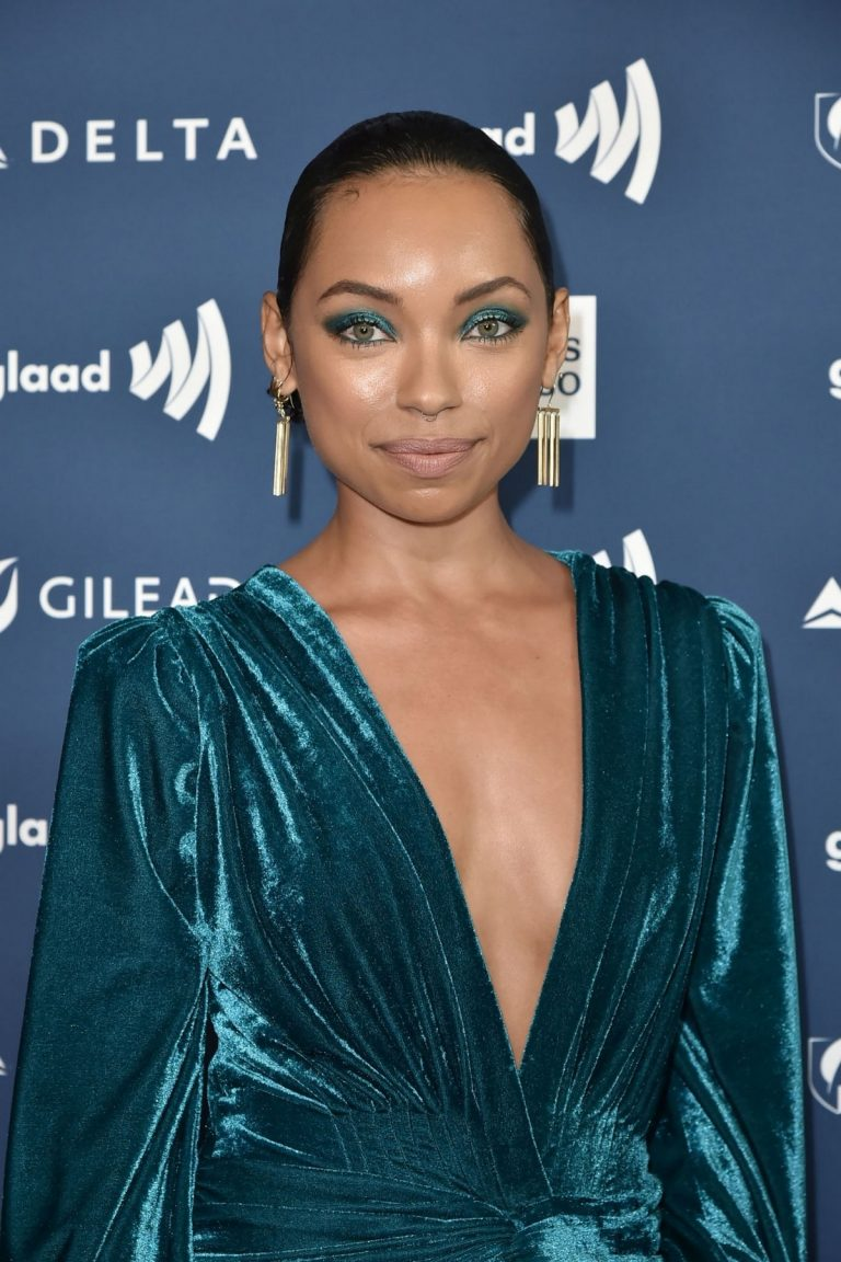 Logan Browning attends The 30th Annual GLAAD Media Awards at The Beverly Hilton Hotel 2019/03/28 1