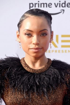 Logan Browning attends The 50th NAACP Image Awards at Dolby Theatre in Hollywood 2019/03/30 9