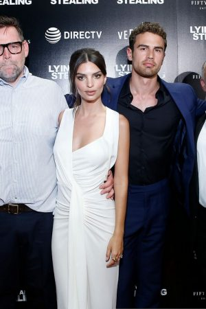 "Theo James and Emily Ratajkowski attend ""Lying And Stealing"" Screening at Cinepolis Chelsea 2019/06/17 1"