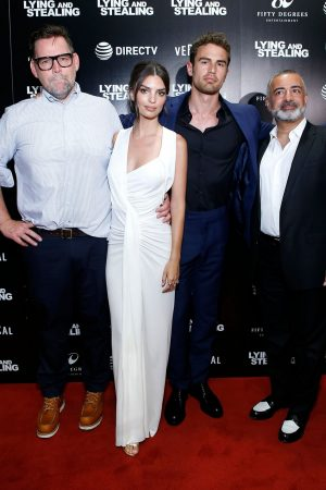 "Theo James and Emily Ratajkowski attend ""Lying And Stealing"" Screening at Cinepolis Chelsea 2019/06/17 2"