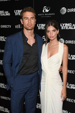 "Theo James and Emily Ratajkowski attend ""Lying And Stealing"" Screening at Cinepolis Chelsea 2019/06/17 3"