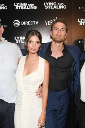"Theo James and Emily Ratajkowski attend ""Lying And Stealing"" Screening at Cinepolis Chelsea 2019/06/17 5"