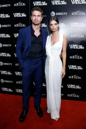 "Theo James and Emily Ratajkowski attend ""Lying And Stealing"" Screening at Cinepolis Chelsea 2019/06/17 7"