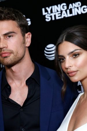 "Theo James and Emily Ratajkowski attend ""Lying And Stealing"" Screening at Cinepolis Chelsea 2019/06/17 8"