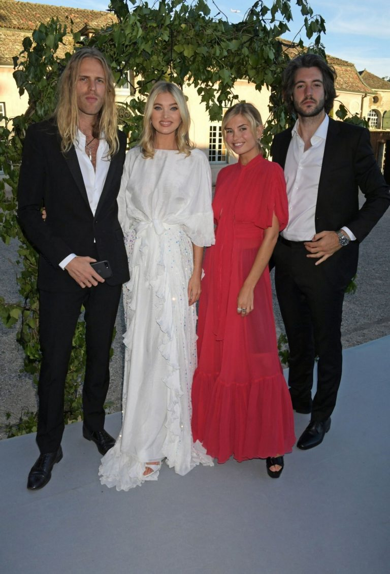 Tom Daly and Elsa Hosk attend The Naked Heart Foundation: The Secret Garden Charity Gala 2019/06/13 1