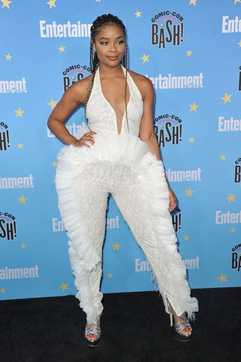 Ajiona Alexus attends Entertainment Weekly Party at Comic-con in San Diego 2019/07/20 6