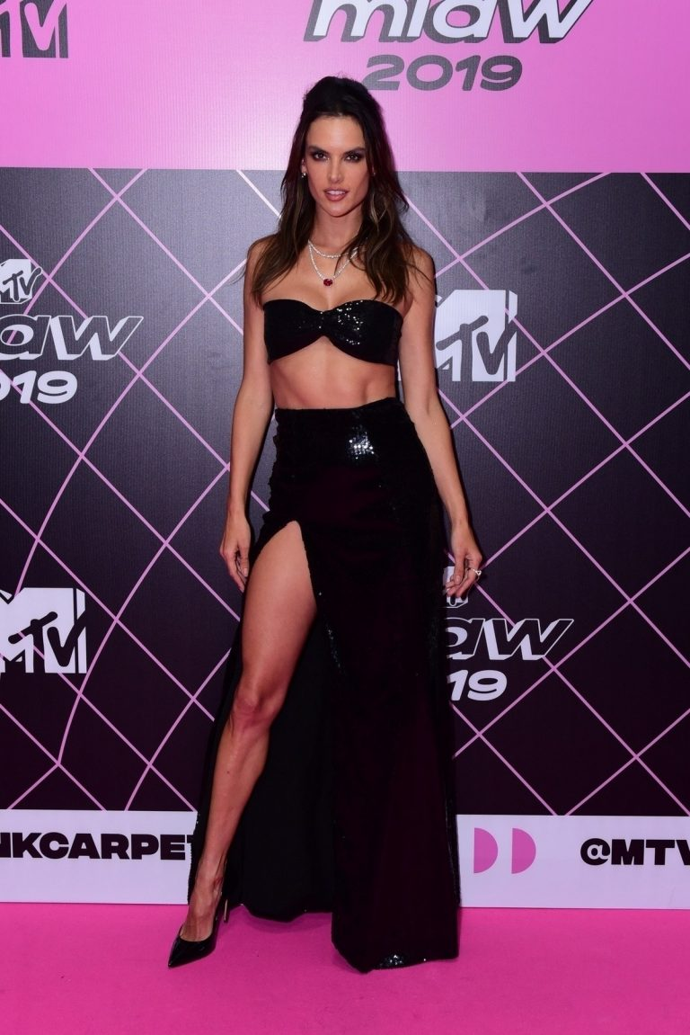 Alessandra Ambrosio at the MTV Millennial Awards in Sao Paulo 2019/07/03 1