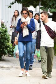 Alessandra Ambrosio Blue Sweater and Jeans out in Sao Paulo 2019/07/05 8
