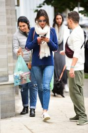 Alessandra Ambrosio Blue Sweater and Jeans out in Sao Paulo 2019/07/05 9