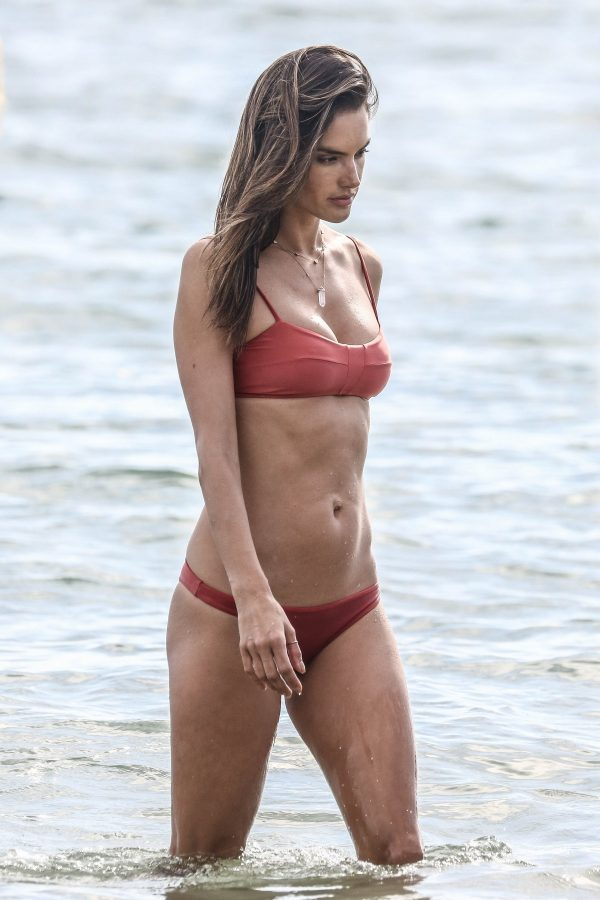Alessandra Ambrosio enjoys The Waters in Florianopolis, Brazil 2019/07/04 19