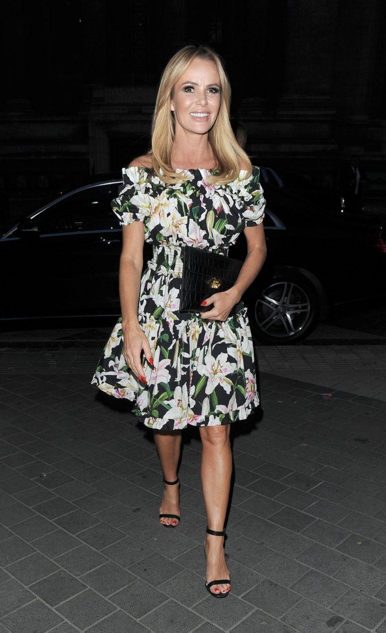 Amanda Holden arrives at Syco Summer Party in London 2019/07/04 3