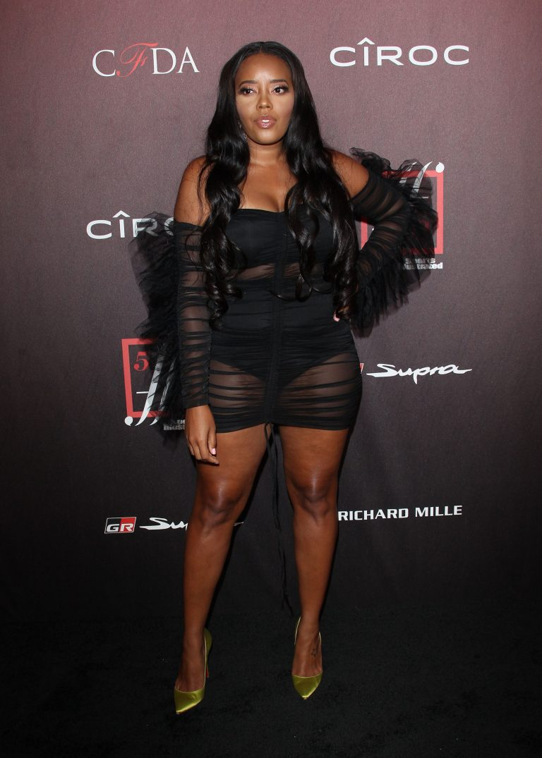 Angela Simmons attends 4th Annual Sports Illustrated Fashionable 50 Party in Los Angeles 2019/07/18 2