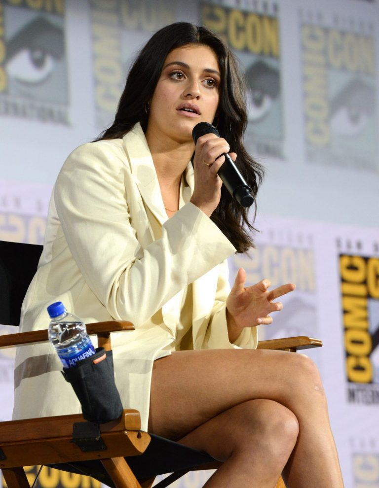 "Anya Chalotra attends 2019 Comic-Con International - ""The Witcher"": A Netflix Original Series Panel 2019/07/19 7"