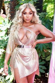 Ashanti attends PrettyLittleThing x Ashanti Launch Party in Los Angeles 2019/06/30 10
