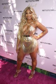 Ashanti attends PrettyLittleThing x Ashanti Launch Party in Los Angeles 2019/06/30 11