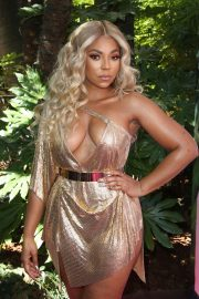 Ashanti attends PrettyLittleThing x Ashanti Launch Party in Los Angeles 2019/06/30 13