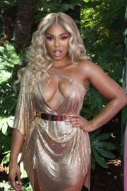 Ashanti attends PrettyLittleThing x Ashanti Launch Party in Los Angeles 2019/06/30 15