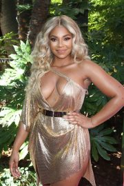 Ashanti attends PrettyLittleThing x Ashanti Launch Party in Los Angeles 2019/06/30 16