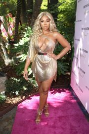 Ashanti attends PrettyLittleThing x Ashanti Launch Party in Los Angeles 2019/06/30 17
