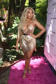 Ashanti attends PrettyLittleThing x Ashanti Launch Party in Los Angeles 2019/06/30 18