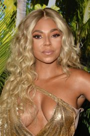 Ashanti attends PrettyLittleThing x Ashanti Launch Party in Los Angeles 2019/06/30 24