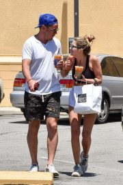 Ashley Benson and Derek Beckman leaves lunch with a friend at Joan's on Third in Studio City 2019/07/12 26