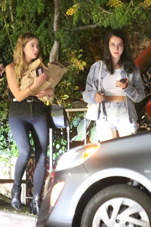 Ashley Benson with her Friends Night Out in Los Feliz 2019/07/23 2