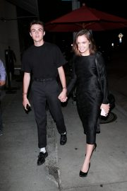 Bailee Madison and Blake Richardson at Craig's Restaurant in West Hollywood 2019/07/15 1