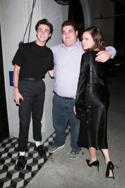 Bailee Madison and Blake Richardson at Craig's Restaurant in West Hollywood 2019/07/15 2