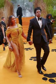 Beyonce and Jay-Z attends Disney's The Lion King European Premiere in Leicester Square, London 2019/07/14 1