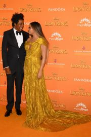 Beyonce and Jay-Z attends Disney's The Lion King European Premiere in Leicester Square, London 2019/07/14 2